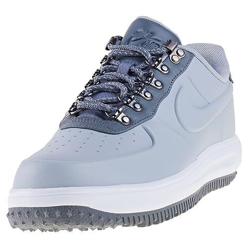 Zapatillas NIKE Lunar Force 1 Duckboot Low de Hombre de Cuero Gris AA1125-002: Amazon.es: Zapatos y complementos