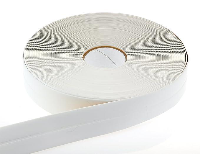 Weichsockelleiste PVC 1m lang Winkelleiste Knickwinkel nicht selbstklebend