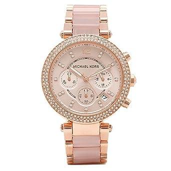 23f47f14b641 [マイケルコース] 腕時計 レディース MICHAEL KORS MK5896 MK5896622 ピンクゴールド [並行輸入品