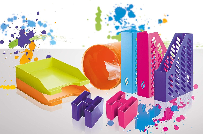 couleur tendance violet /él/égant et de haute qualit/é HAN 1601-57 porte-revues KLASSIK Fonctionnel Lot de 10 unit/és design classique en phase avec son temps