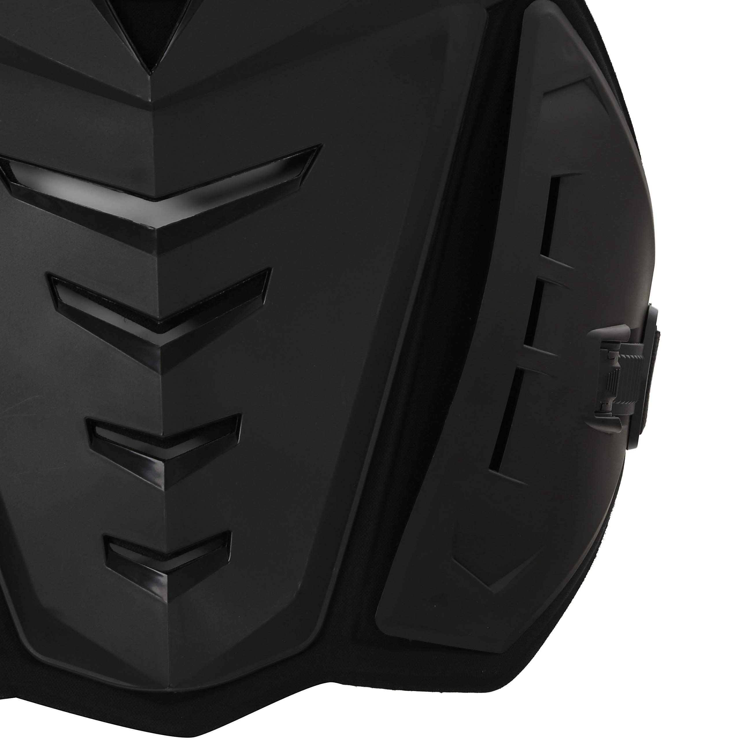 OHMOTOR Chest Back Protector Motorcycle Armor Vest Motorcycle Riding Chest Armor (Black) by OHMOTOR (Image #6)
