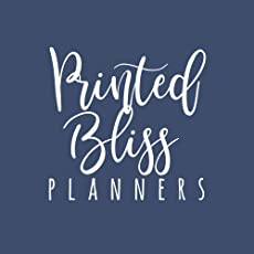 Printed Bliss Planners