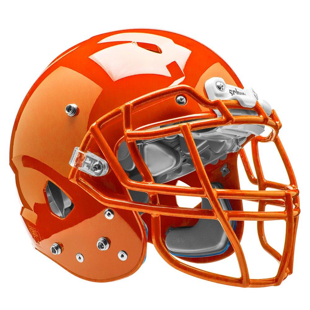 Schutt Sports Vengeance VTD II Football Helmet Without Faceguard, Burnt Orange, Small