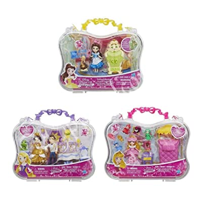 Disney Princess Little Kingdom Story Moments 3-pack: Toys & Games