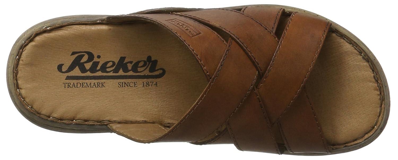 56a0f187e4fb4 Rieker Men's's 22098 Mules: Amazon.co.uk: Shoes & Bags