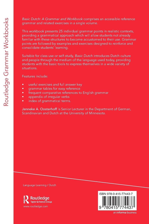 Basic Dutch: A Grammar and Workbook (Grammar Workbooks): Amazon.co ...