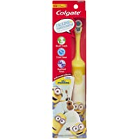 Colgate Kids Interactive Talking Toothbrush, Minions (Colors Vary)