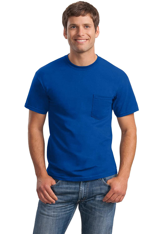 Pocket T-Shirt Gildan Ultra Cotton 6 oz