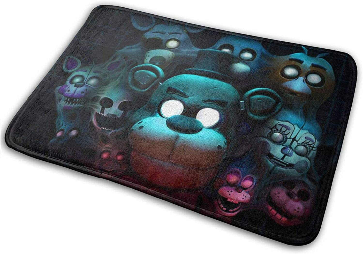 Five Nights at Freddy's Bathroom Rugs Bath Mat Door Mats Front Kitchen Rug Carpet for Inside Outdoor 15.7 X 23.5 in