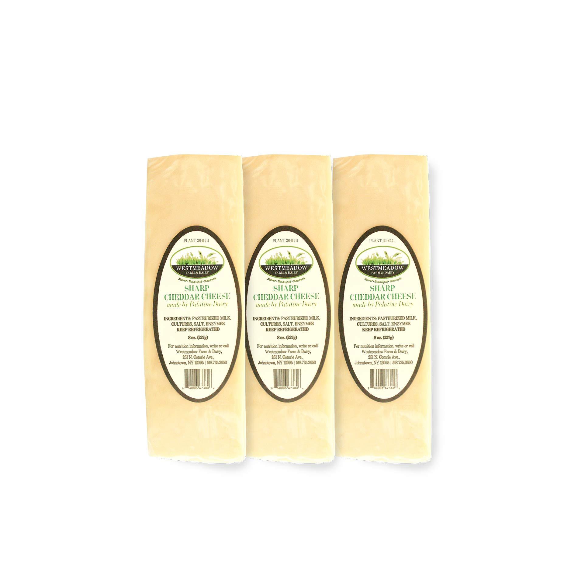 Westmeadow Farm Sharp Cheddar Cheese Bundle (24 oz)
