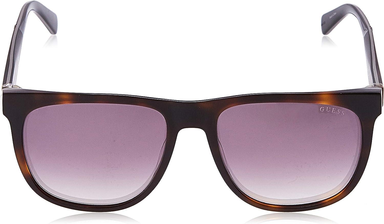 Brown Guess Unisex Adults/' GU6913 52G 56 Sunglasses Avana Scura//Marrone Specchiato