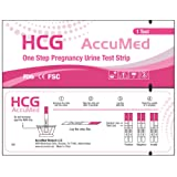 Amazon Price History for:AccuMed® Pregnancy (HCG) Test Strips Kit, Clear and Accurate Results, FDA Approved and Over 99% Accurate, 50 count - Expire 03/2019