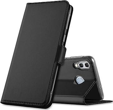 GEEMAI Diseño para Huawei P Smart 2019 Funda, Protectora PU Funda Multi-ángulo a Prueba de