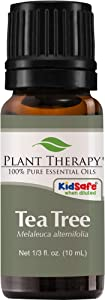 Plant Therapy Tea Tree Essential Oil 100% Pure, Undiluted, Natural Aromatherapy, Therapeutic Grade 10 mL (1/3 oz)