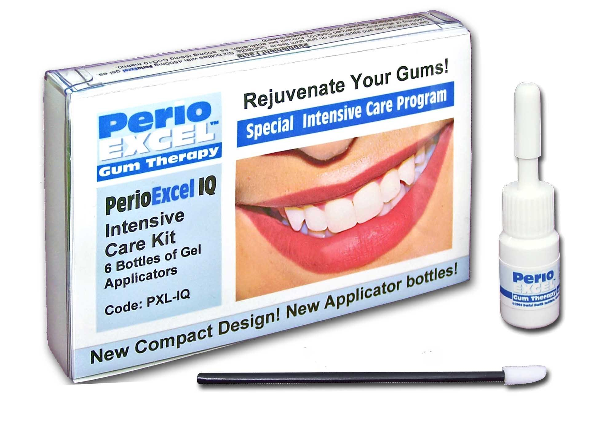 Sensitive Dental Care - PerioEXCEL IQ6 Gum Therapy Intensive Care 6-week program with CoQ10 Gum Gel by Sensitive Dental Care (Image #1)