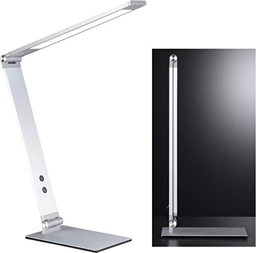 Geri Minimalist Led Desk Lamp Adjustable 4 Steps Aluminium Dimmer Light Colour In 4 Levels Available Height 38 Amazon De Beleuchtung
