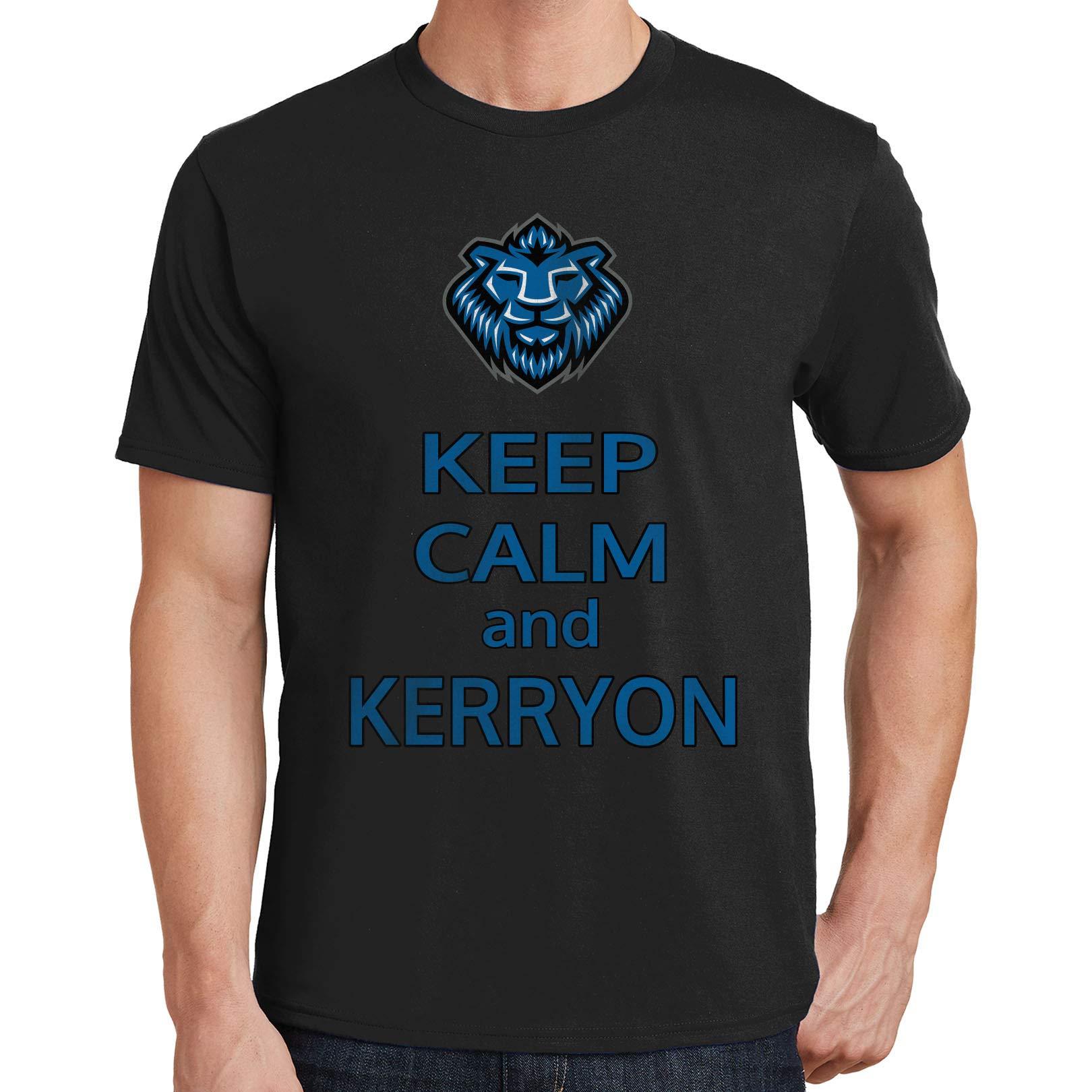 Keep Calm And Kerryon S T Shirt Kerryon Johnson Lions 33 3319 4975