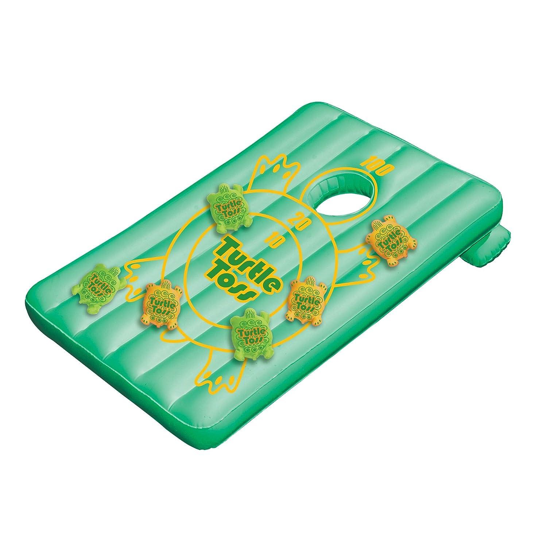 Amazon.com: Water Sports Inflatable Turtle Toss Cornhole Target ...