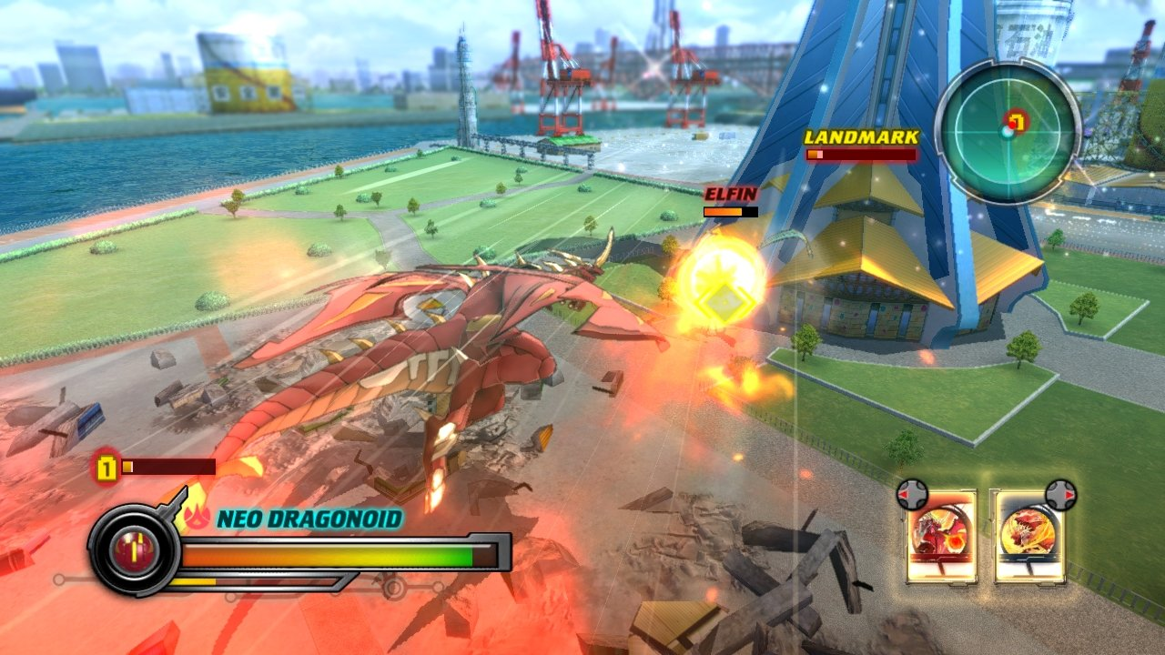brawlers defenders core of Bakugan battle the