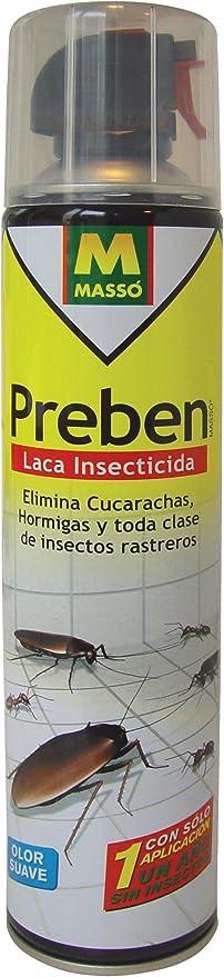 Preben 230080 Laca insecticida rastreros, Transparente, 6.5x29.5x6.5 cm