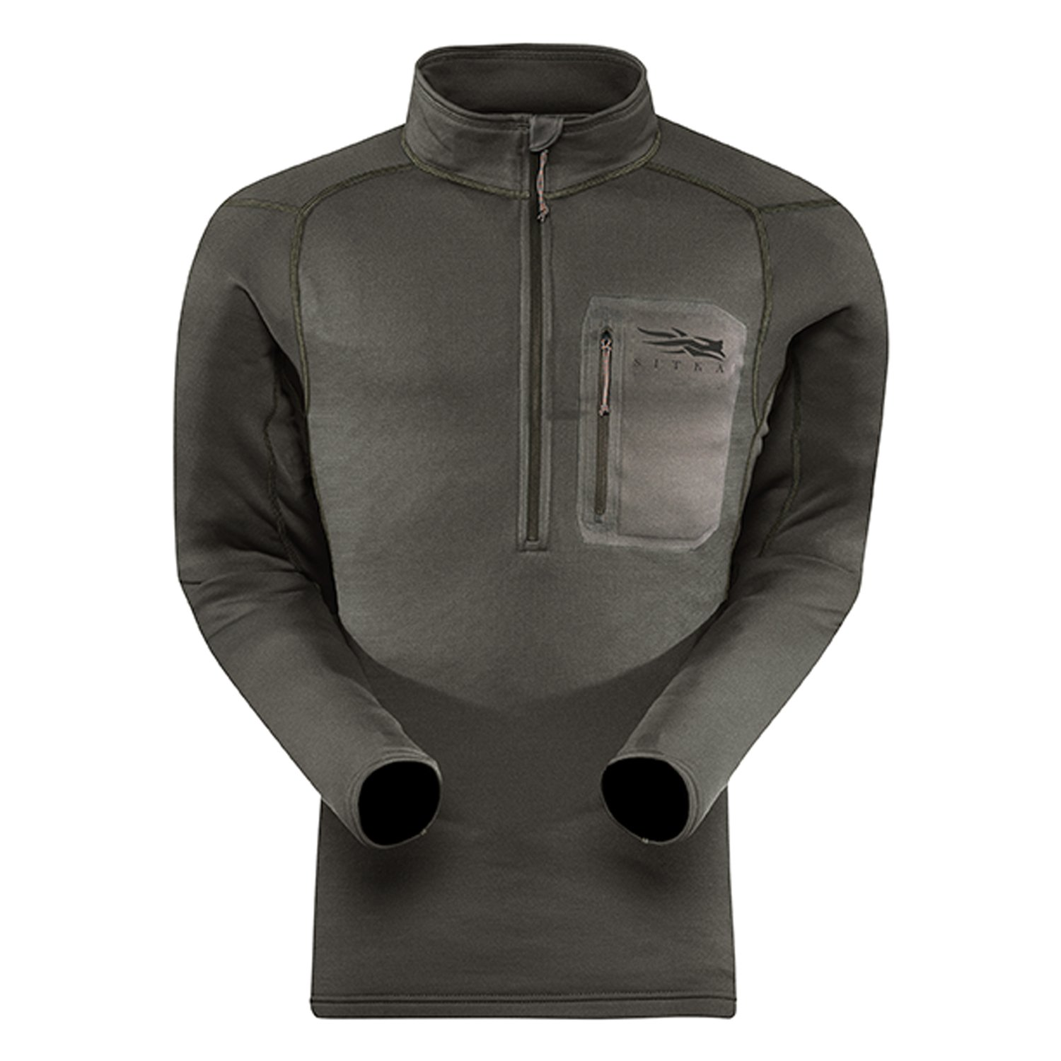 Sitka Gear Core Midweight Zip T, Optifade piemontesische
