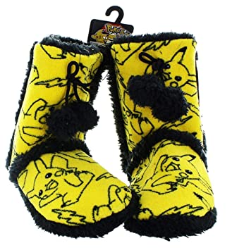 Pokemon Pikachu Women s Boot Slippers  Small  Amazon.co.uk  Toys   Games 2fa92c6d03