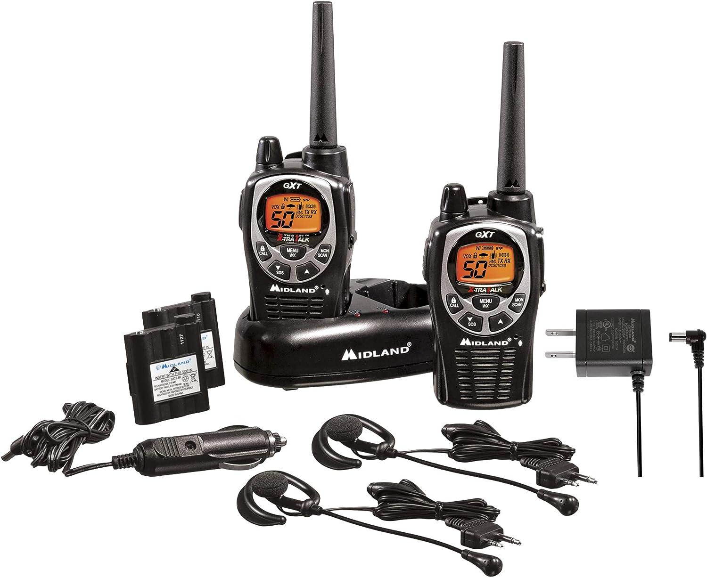 Midland GXT1000VP4 Walkie Talkies with Bluetooth