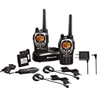 Midland 50 Channel Waterproof GMRS Two-Way Radio - Long Range Walkie Talkie with 142 Privacy Codes, SOS Siren, and NOAA…