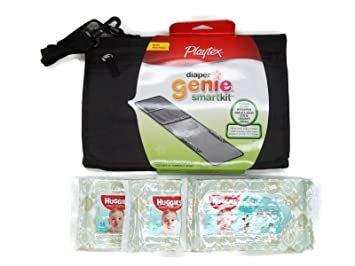 DIAPER CHANGING KIT ++BONUS++ 3 Packs of 16 Baby Wipes