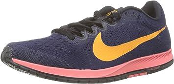 Magnético rango estoy sediento  Amazon.co.jp: Nike 831413 401 Men's Running Shoes Zoom Streak 6 Blackend  Blue/Orange Peel - -: Sports