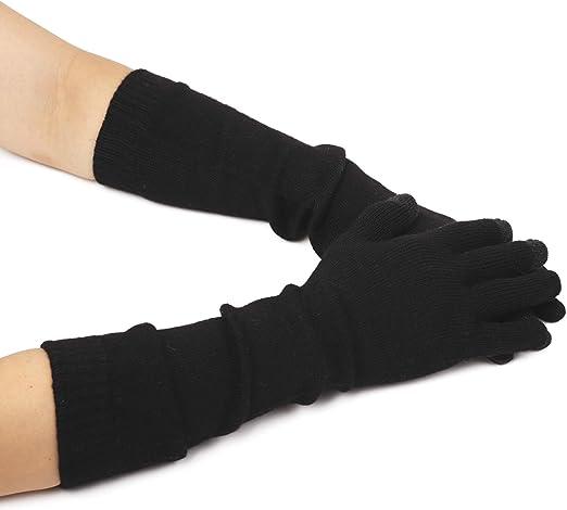 Knitting Pattern for Ladies Opera Gloves