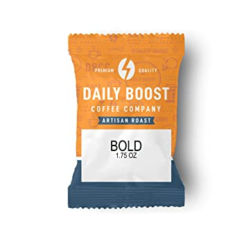 buy online 61a21 6ca64 Daily Boost Coffee Company Artisan Bold Blend Coffee Fraction Pack, 42 Count