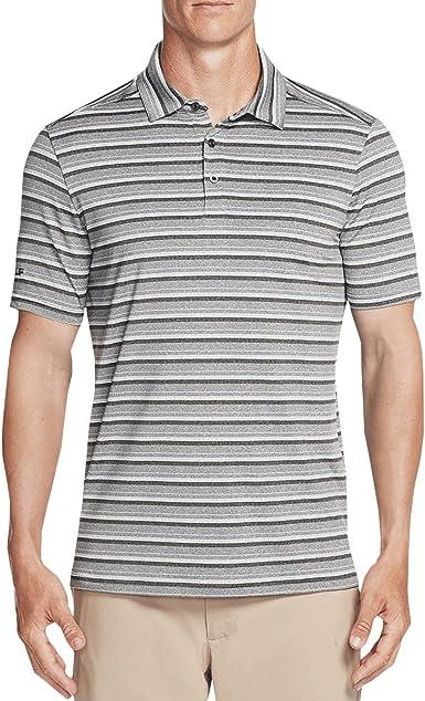 Stripe Polo Shirt Navy