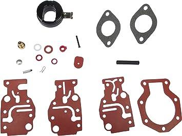 Carburetor Repair Kit for 1988 Evinrude 20HP E20ECCA Outboard Engines E20ELCCA