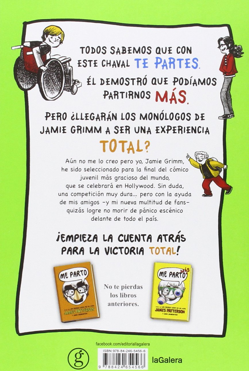 Me parto total: JAMES - GRABENSTEIN, CHRIS PATTERSON: 9788424654566: Amazon.com: Books