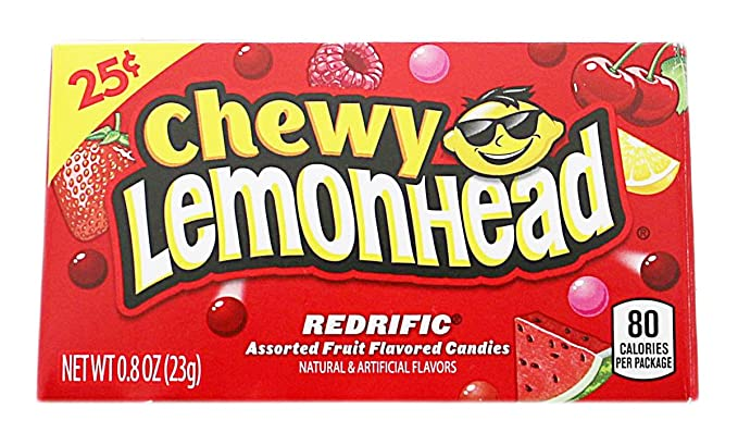 28503cb02bff5 Ferrara Candy Company Chewy Lemonhead Redrific (23g): Amazon.co.uk ...