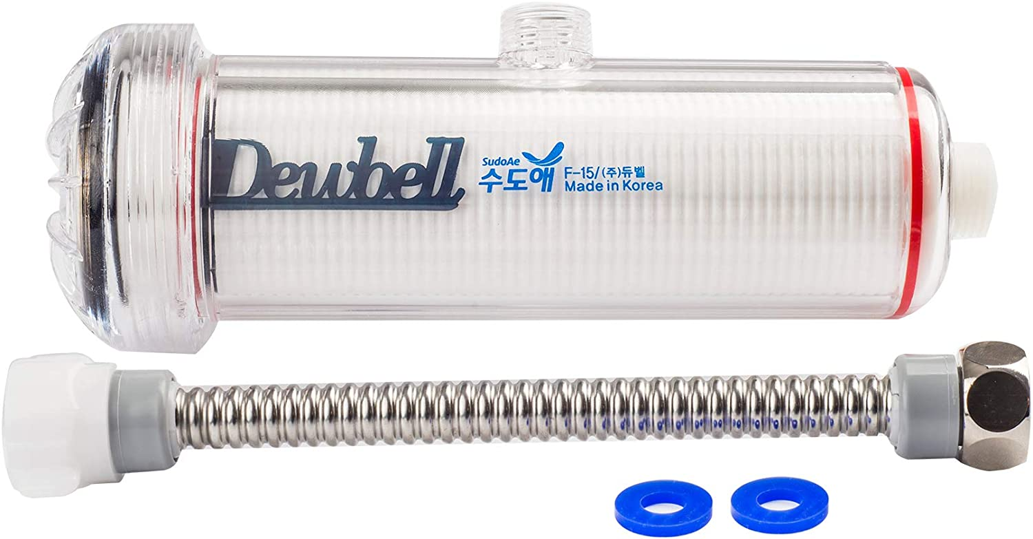 DEWBELL High Grade Type //Water Filter//Removes Rust F15 Water Filter System for wash Basin Residual Chlorine and Harmful substances