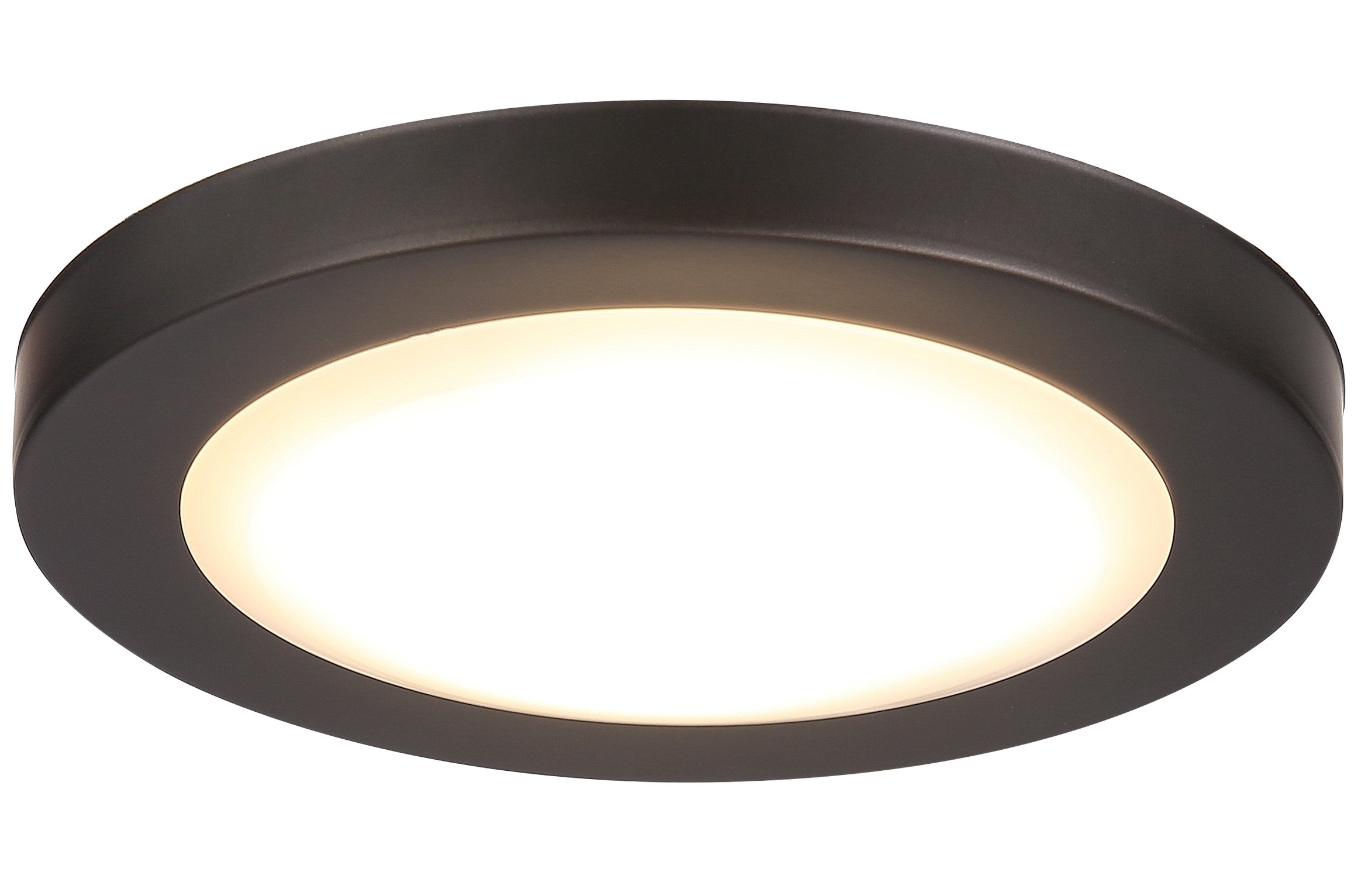 Cloudy Bay 7.5 inch LED Flush Mount Ceiling Light 4000K Cool White Dimmable 12W 840lm -100W Incandescent Fixture Equivalent,ETL,ORB Wet Location