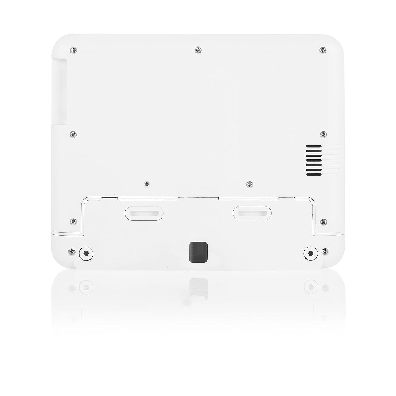 Smartwares DIC-22202 Interphone Vid/éo /à Moniteur Int/érieur HD 720p /Écran LCD Blanc 7 Pouces//17,8 cm
