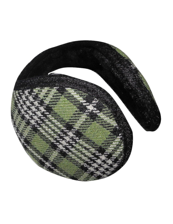 Unisex Premium-Qualität, die warme Winter Ski Knit Wolle Ohrenschützer / Ohrwärmer - Grün