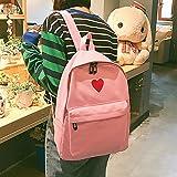 Girls School Backpack Canvas Student Bag Big Laptop Book Bags Travel Rucksack