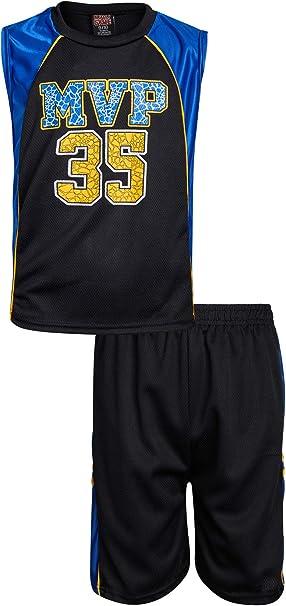 Amazon.com: Mad Game - Conjunto de camiseta y pantalón corto ...