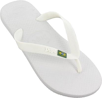 Chanclas Dupé Revolution Brasil Gel en 5 Colores Diferentes, Blanco (Blanco), 47.5: Amazon.es: Zapatos y complementos
