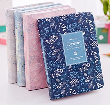 Amazon.com : Planner 2018 Flower Notebook Diary Monthly ...