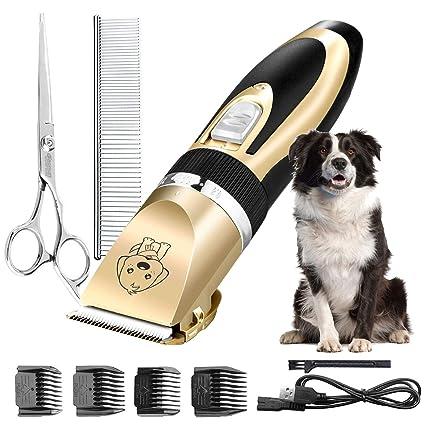 LURICO Cortapelo Eléctrico Profesional Maquina Cortar Pelo Cortapelos para Hombres Niños Perros Gatos Mascotas etc con