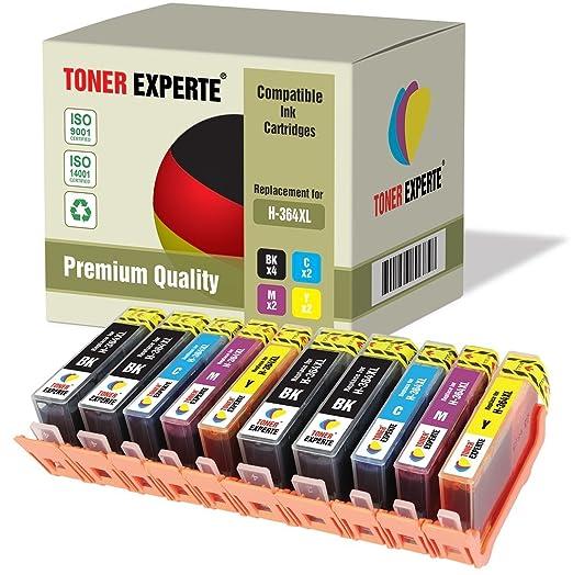 109 opinioni per Kit 10 XL TONER EXPERTE® Cartucce d'inchiostro compatibili con HP 364XL