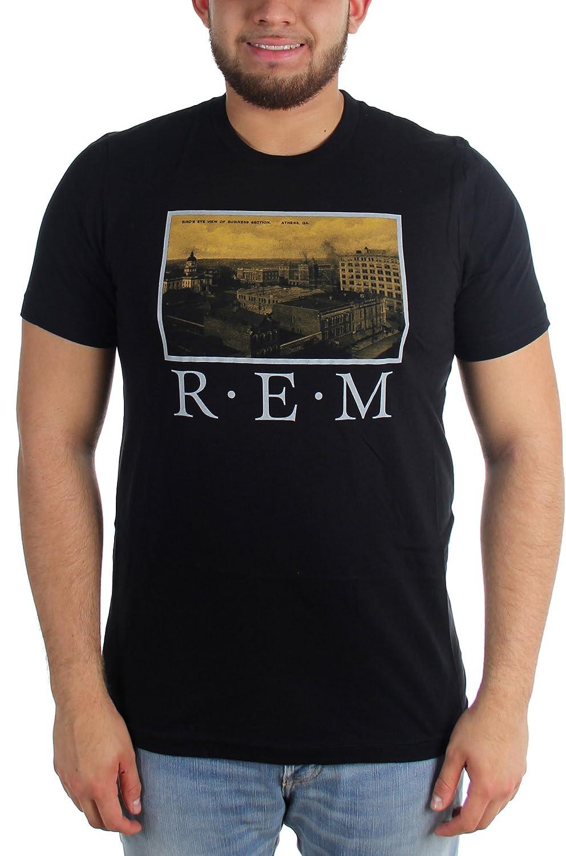 R.E.M. - Mens Postcard Fitted T-Shirt