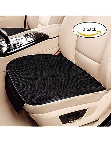 932b05597f Haosens 2 Pezzi Auto Coprisedili Protezioni per sedili Cuscino del Sedile  Auto - Confortevole Antiscivolo,