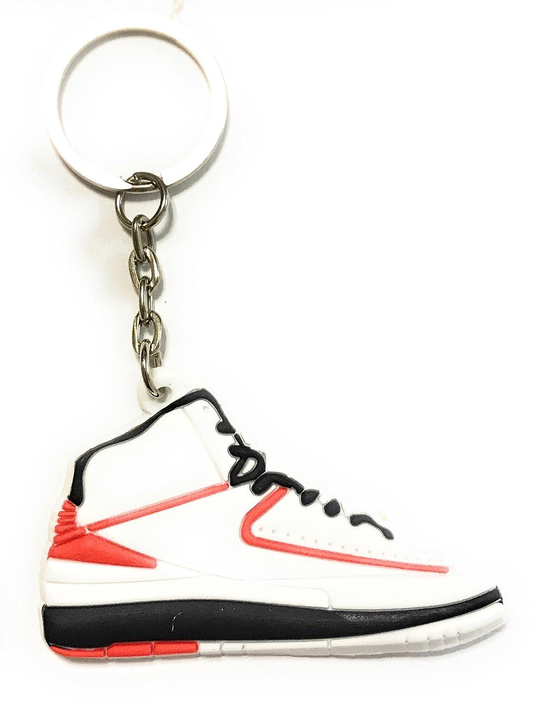 Amazon.com: Zapato Llaveros Aj- Retro 2 Sneaker Zapatillas ...