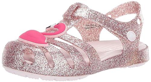 3dc89f0145f60 Crocs Kids' Girls Isabella Charm Flat Sandal